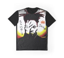 Samold Basquiat Graphic T-Shirt