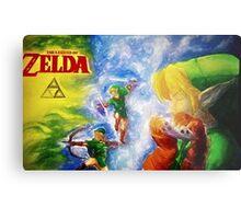 Legend of Zelda (link) Metal Print