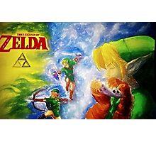 Legend of Zelda (link) Photographic Print