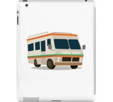 Vintage RV camper cartoon iPad Case/Skin