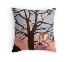 The Love Fairy  Throw Pillow