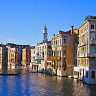 The Grand Canal in Venice by Alex Cassels