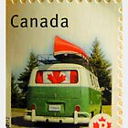 Canada Post VW Splitscreen Bus  by ©The Creative  Minds