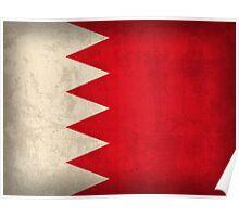 Bahrain Flag Poster
