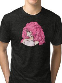Steven Universe - Rose Quartz Tri-blend T-Shirt