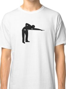 Billiards snooker player Classic T-Shirt