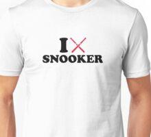I love Snooker cue Unisex T-Shirt