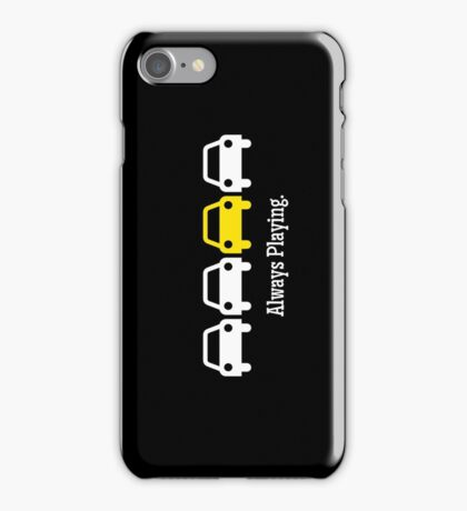 Cabin Pressure - Always Playing Yellow Car iPhone Case/Skin