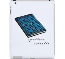 Spoilers Sweetie iPad Case/Skin