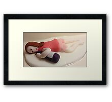 Drunk Lady Framed Print