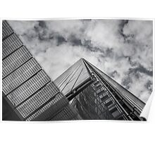 Zigzag ~ The Shard, London Poster