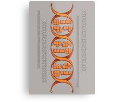 Gaming DNA Metal Print