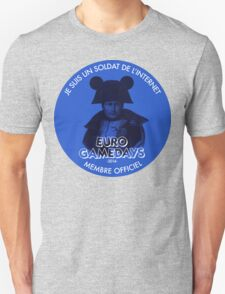 Euro Gamedays 2014 - Blue Unisex T-Shirt