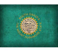 South Dakota State Flag Photographic Print