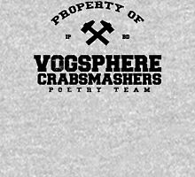 Property of Vogsphere Crabsmashers Poetry Team Unisex T-Shirt