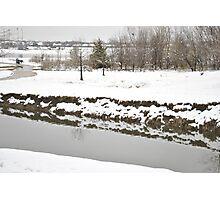 Winter Creek Photographic Print
