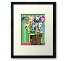 My dead ponnies Framed Print