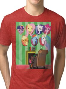 My dead ponnies Tri-blend T-Shirt