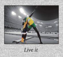 Live it: Usain Bold by TimVD
