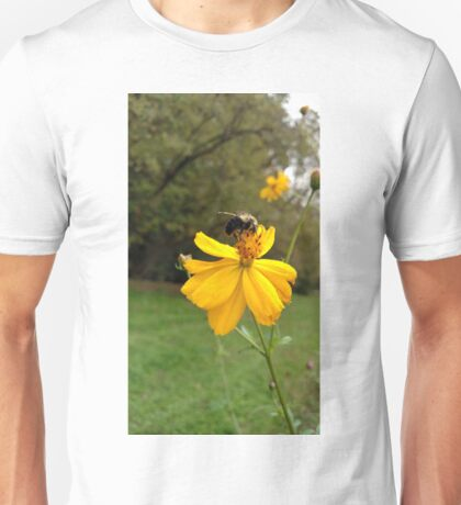 Stopping for a sip Unisex T-Shirt