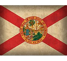 Florida State Flag Photographic Print