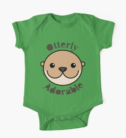 Otterly Adorable - Otter Face One Piece - Short Sleeve