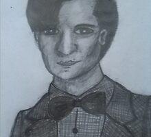 Matt Smith,The 11th Doctor by TinyWolf