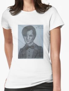 Matt Smith,The 11th Doctor Womens Fitted T-Shirt