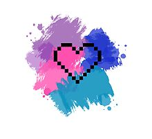 8-bit Heart by Britney Beaty
