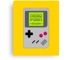 NERD BOY Canvas Print