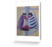 Heart In A Cage Greeting Card
