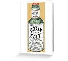 Brain Salt Greeting Card