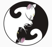 Cat|Yin Yang by spaceprincess