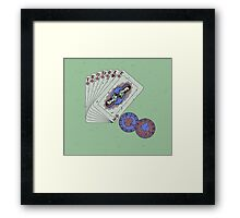 Hey boy, what's your game Framed Print