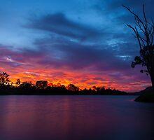 Cracking Sunset by Rose Hamilton-Barr