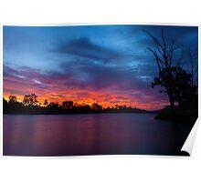 Cracking Sunset Poster