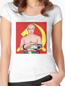 Call Me Dr. Putin Women's Fitted Scoop T-Shirt
