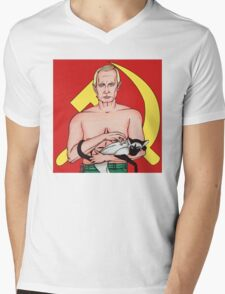 Call Me Dr. Putin Mens V-Neck T-Shirt