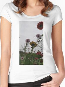Against the sky Women's Fitted Scoop T-Shirt
