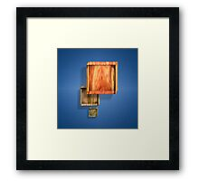 Shallow Boxes Three Framed Print