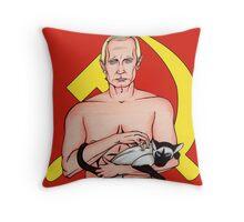 Call Me Dr. Putin Throw Pillow