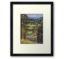 View of Rollands Plains Framed Print