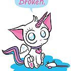 broken – unicorn kitty by Kopfzirkus