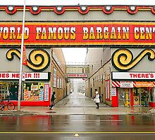 World Famous Bargain Centre by Valentino Visentini
