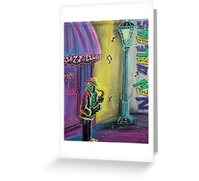 New Orleans Jazz Fest Greeting Card