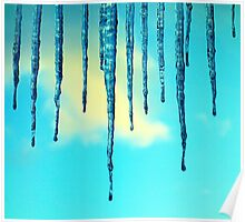 Iced Sky Poster
