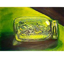 Green Jar Photographic Print