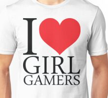 I Heart Gamer Girls Unisex T-Shirt