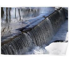 Sciota Old Mill Spillway  Poster