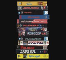80s Classic VHS Movies by HarrisonSteele